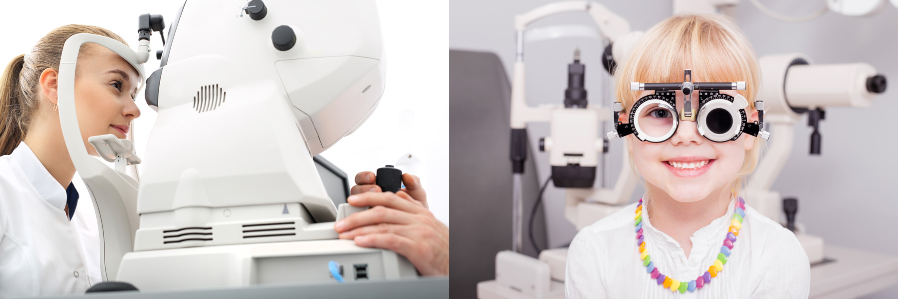 eye examinations at Kersley Clinic