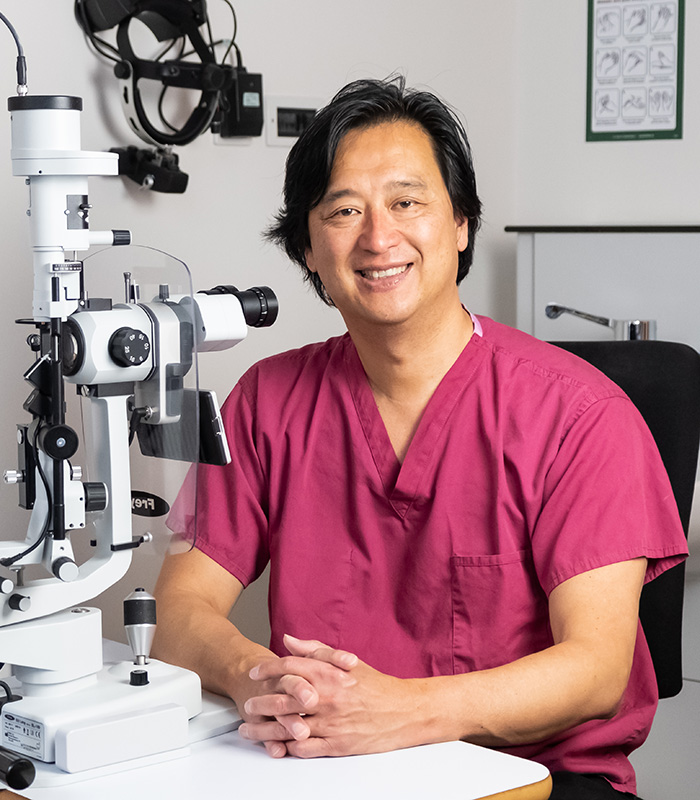 Kersley Eye Clinic Professor K. Sheng Lim